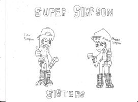 Super Simpson Sisters Movie Picture by Dancrew2010