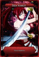 Fairy Tail Orica Card | Erza by Biohazard20
