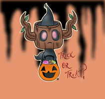 Phantump! Trick or Treat? by Glitzerland