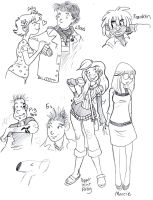 Charlie Brown teen sketches 02 by secondlina