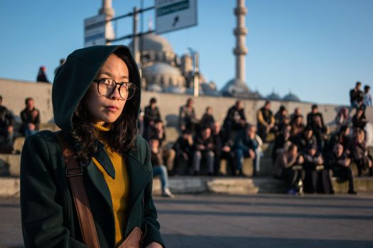 Thai Girl in Istanbul by niklin1
