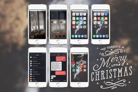 December 2014 iPhone setup // Merry X-mas! by neopolitandoll