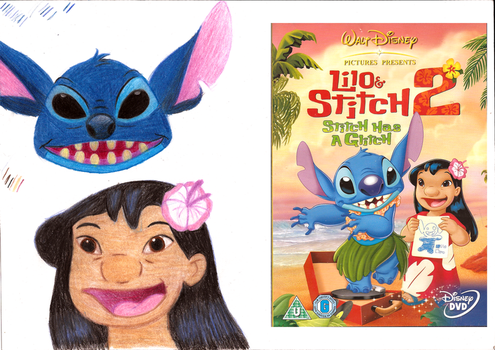 lilo and stitch by 707cloud