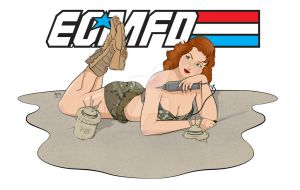 Valmara 69 EOD Pin-Up Girl v2 by RedWireDesigns