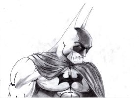 Batman -Michael Turner style- by PolishTank48
