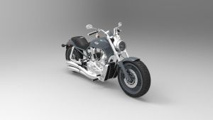 Motorcycle V-Rod by Binary-Map