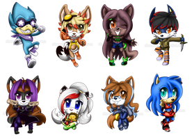 Chibi Batch 5 by Shannohn