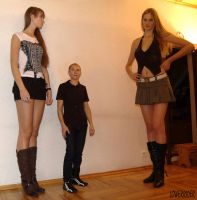 Baltic Tall women threesome by lowerrider