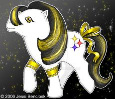 My Little Steelers Pony by benwhoski