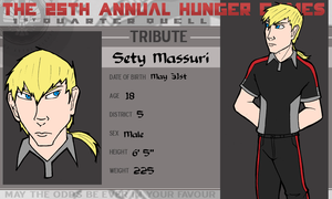 The 25th Annual Hunger Games- Sety Massuri by OCT-Willpower
