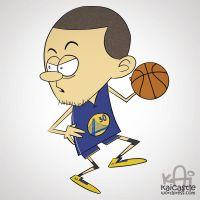 Stephen Curry by kaicastle