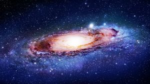 Andromeda Galaxy retouch for iMac by sirtristan209