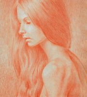 A drawing after Paul Apal'kin's beautiful photo II by oosterbe
