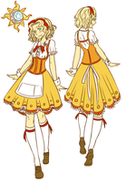 Dreamland Streusel Female Cafe Uniforms by Fireflowermaiden