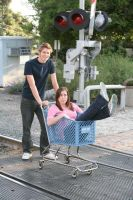 Shopping Cart Silliness by sxywoman