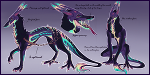 Kigai Ref [Closed Species - Star Dog] by Sairendipity