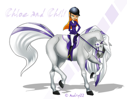Chloe and Chili by audry22