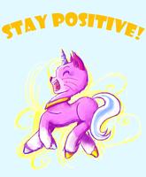 Stay Positive!! by RyuRedwings
