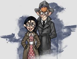 Trench coats by JammerLammy