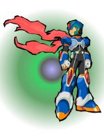 Megaman vectorized by Garcia001
