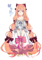 bow-knot girl by stuer793145game