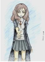 "Hermione: ""Nice to meet you."" by Anrui219"