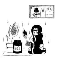 Itachi is good boy XD by Sylwoos