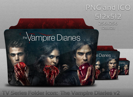 The Vampire Diaries v2 Folder Icon by atty12