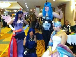 Princess Cosplay Group at EFNW 2013 4 by TaionaFan369