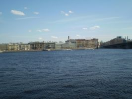 Neva (river) by Dunglap