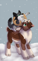 First snow of the season by CunningFox
