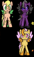 Pony Oc's by QueenYami