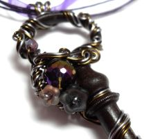 Passage Necklace no. 194 by sojourncuriosities