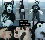 TomCat Partial Suit by Onai-WolfWind