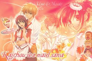 Usui and Misaki wallpapers by Cha-23h30