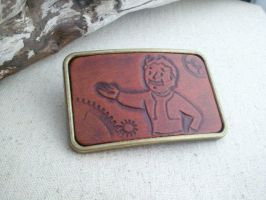 Fallout Belt Buckle by Skinz-N-Hydez