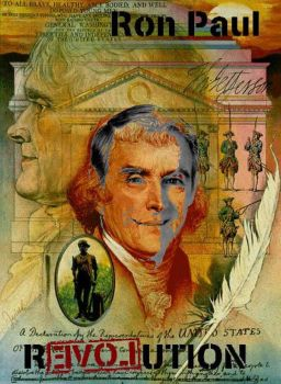 Ron Paul - Thomas Jefferson by Khaos-Pants