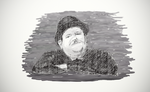 Oliver Hardy in Deep Water by TheBigDaveC