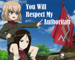 You Will Respect My Authoritah by DNArt93