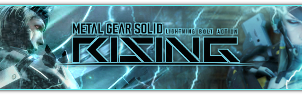 Metal Gear Solid Rising Banner by Slydog0905