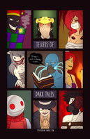 Tellers of Dark Tales by spookyram
