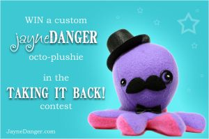 Octoplushie giveaway by jaynedanger