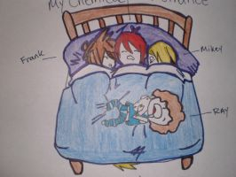 My Chemical Romance: Drawing: Hotel Nights by gerardismylover