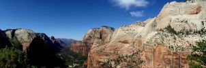 Angel's Landing, Zion, UT by mzager