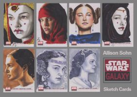 Star Wars Galaxy Sketch Card 2 by AllisonSohn