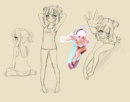 Hannah Sketches by AnArtistApprentice