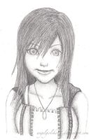 Kairi Drawing by angelgirlsko12