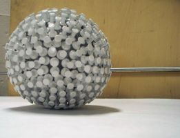 Pushpin Sphere by Pheelip2010