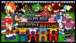 Bday Gift: Red Flash_Dreadym8 by CCgonzo12