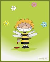 Mala the bee by isasi